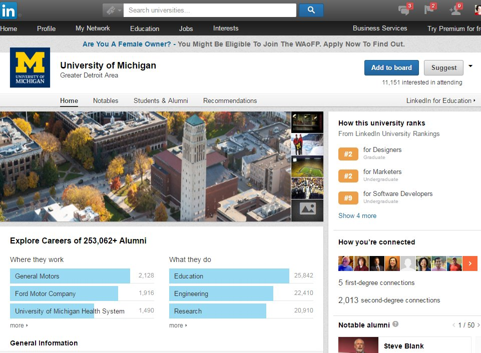 Say bye to LinkedIn Uni Rankings, don't get attached to your University Page https://t.co/qFLdVi8h1p #hesm #casesmc https://t.co/HbSuLkQ2oV