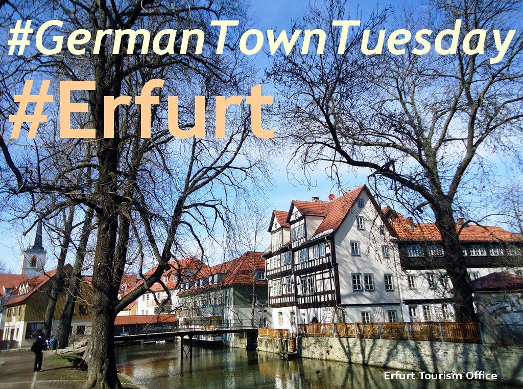 Thumbnail for Erfurt Featured in #GermanTownTuesday