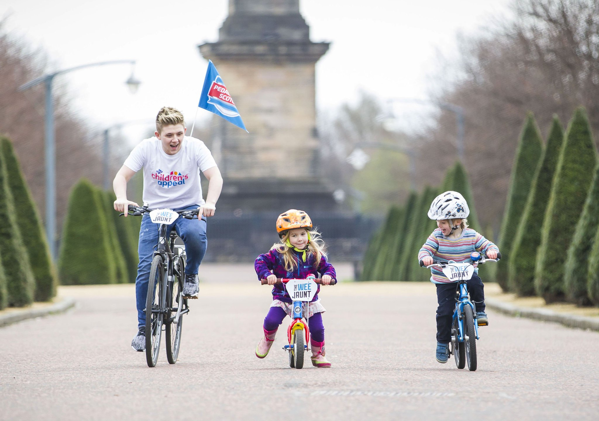 RT @Glasgow_Live: Great to see @nickymcdonald1 supporting @pedallscotland Wee Jaunt https://t.co/eXEQSUMdDe https://t.co/O3BeUkCs20