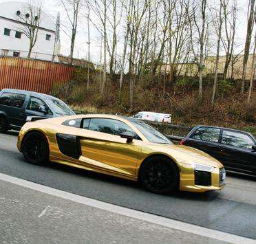 Picture of his Audi R8 V10   car