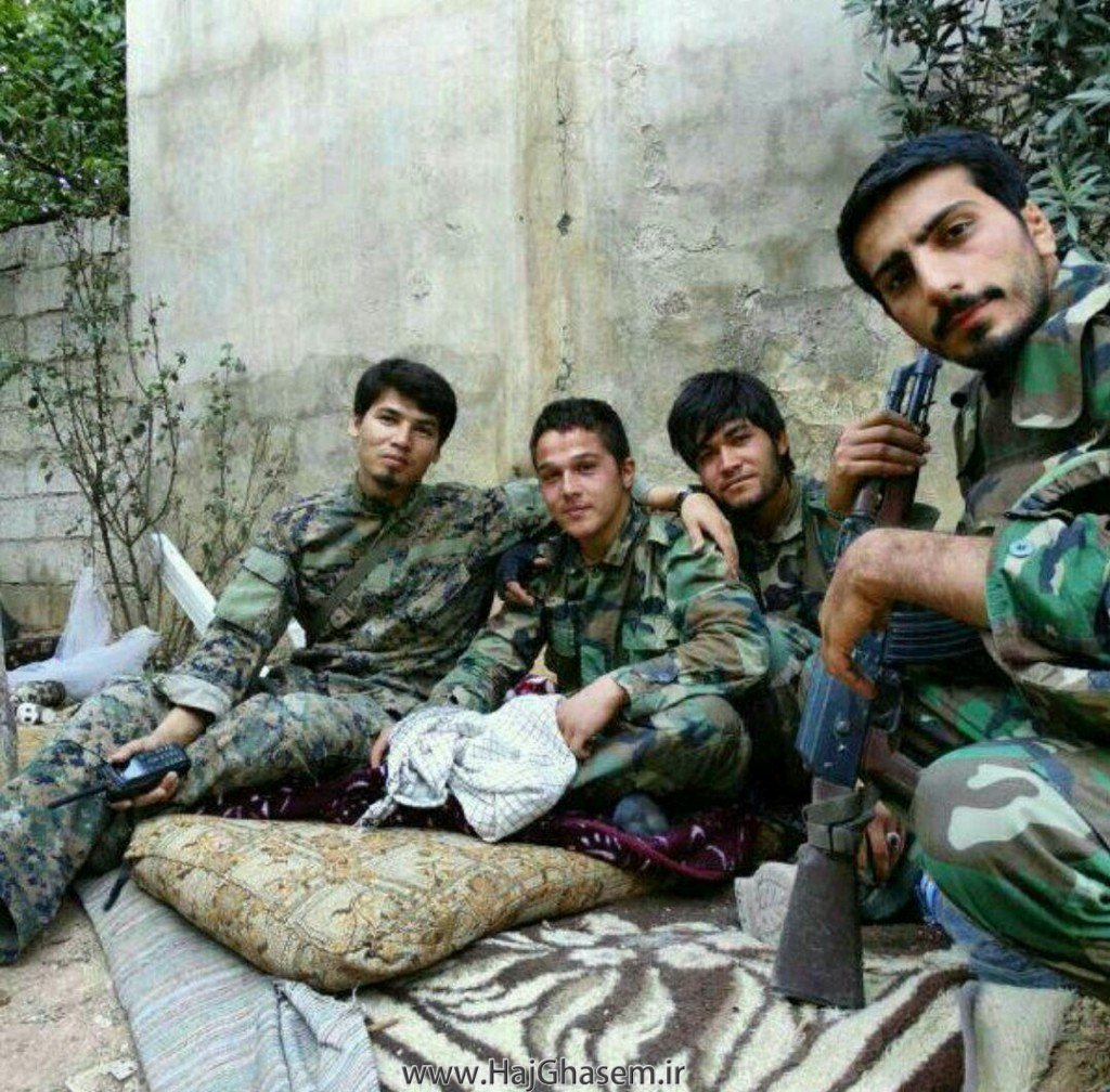 Four Afghan fighters part of the IRGC Fatimiyoun Brigade recently killed in Syria