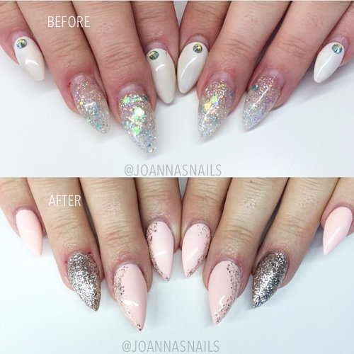 Fancy Acrylic Nails On Twitter By Joannasnails Before 35 Weeks After J07 D13 Tco OQFrvqINZb Acrylicnails Nailart