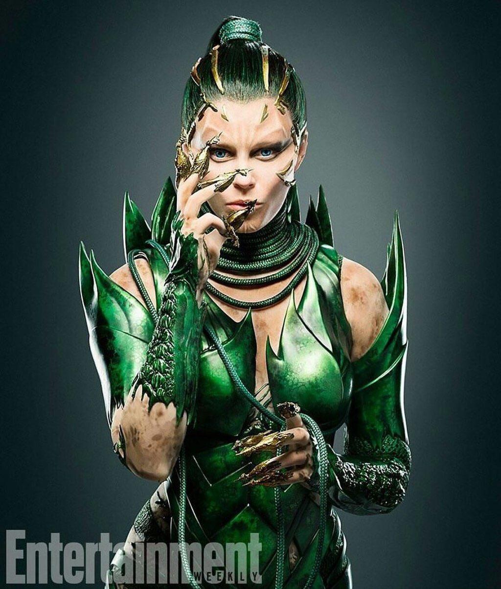 First Look At Elizabeth Banks As Rita Repulsa In Power Rangers 1
