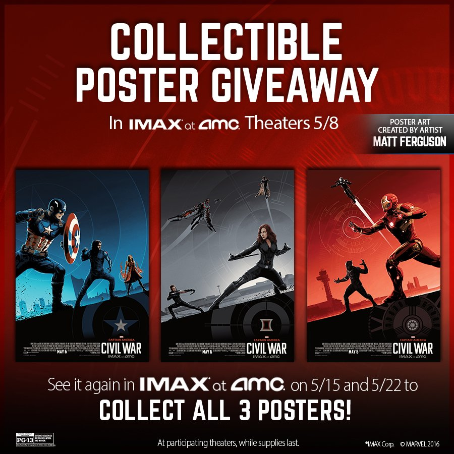 AMC Theatres On Twitter See CaptainAmerica In IMAX Sundays