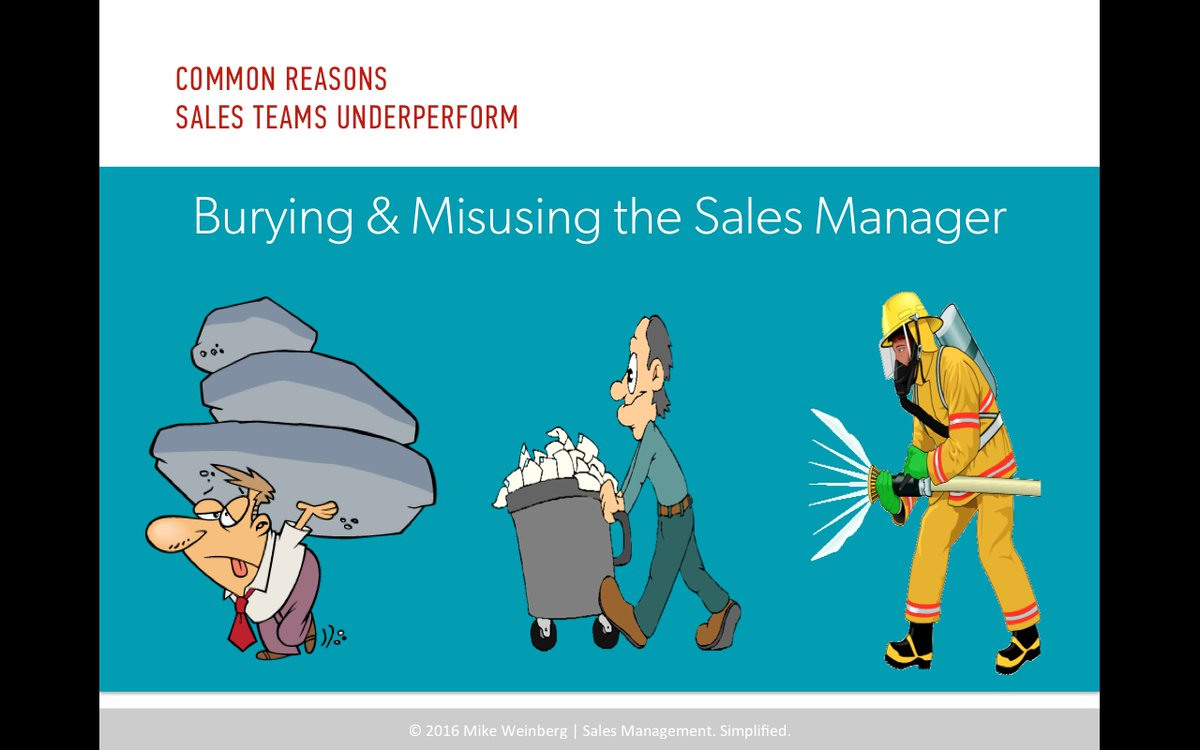 Stop burying & misusing sales mgrs so they could lead! More tomorrow on @HarvardBiz webinar https://t.co/WgpsSa71GD https://t.co/Gx1ERovfHr
