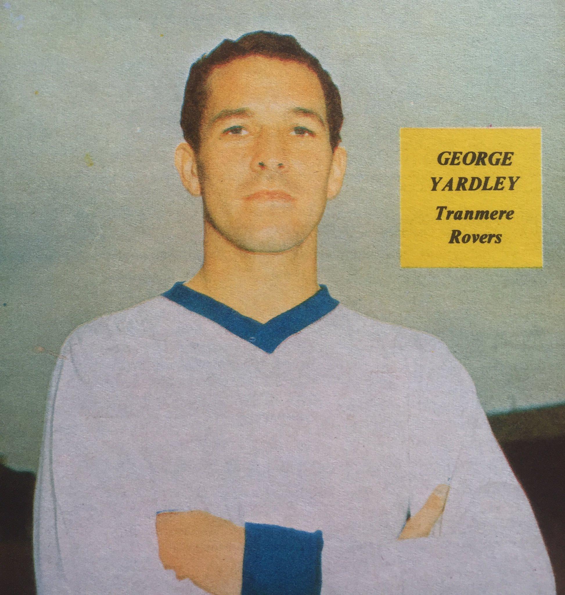 "Football Memorabilia on Twitter ""George Yardley TRFC Keeper"