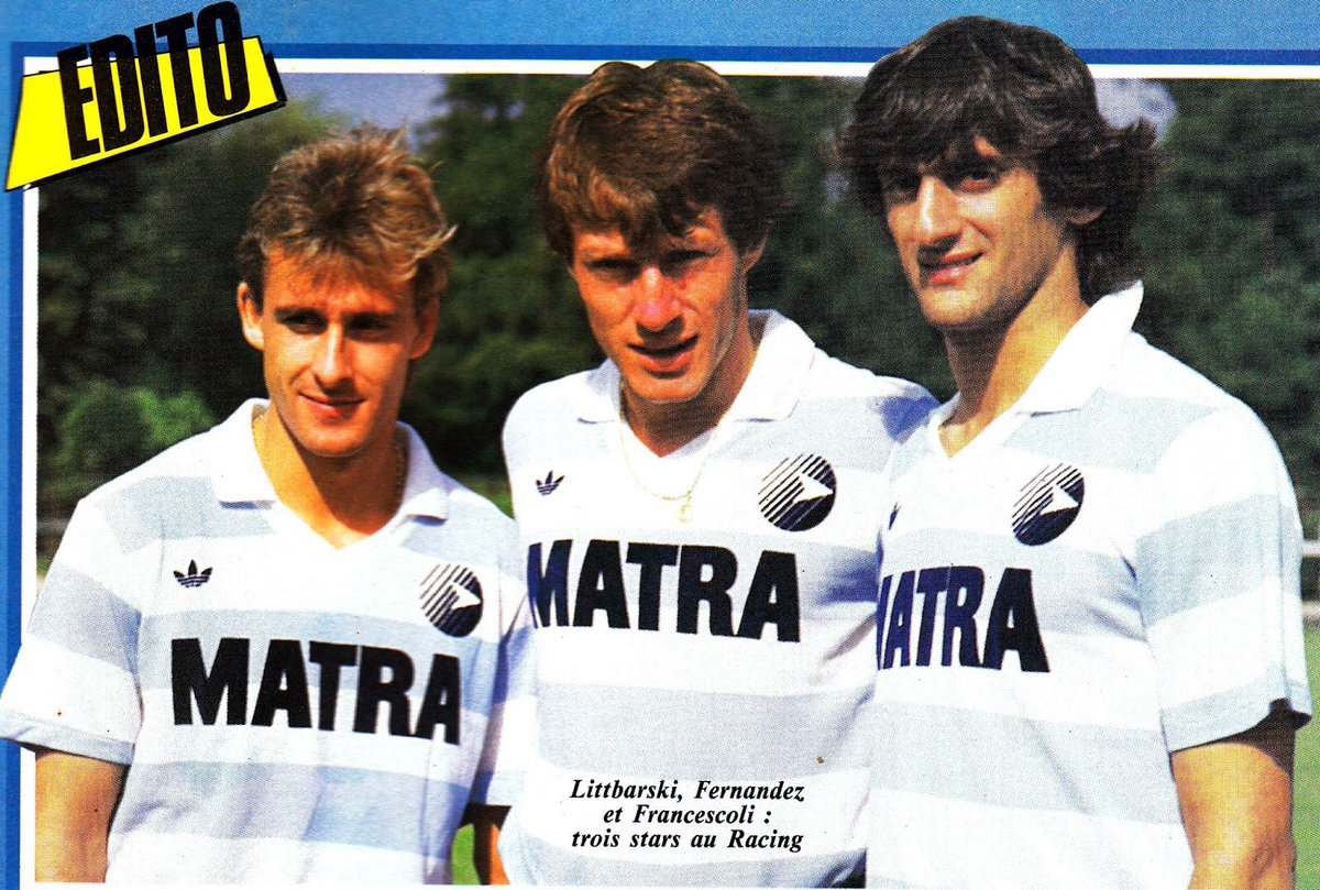 "The League Magazine on Twitter ""Pierre Littbarski Luis Fernandez"