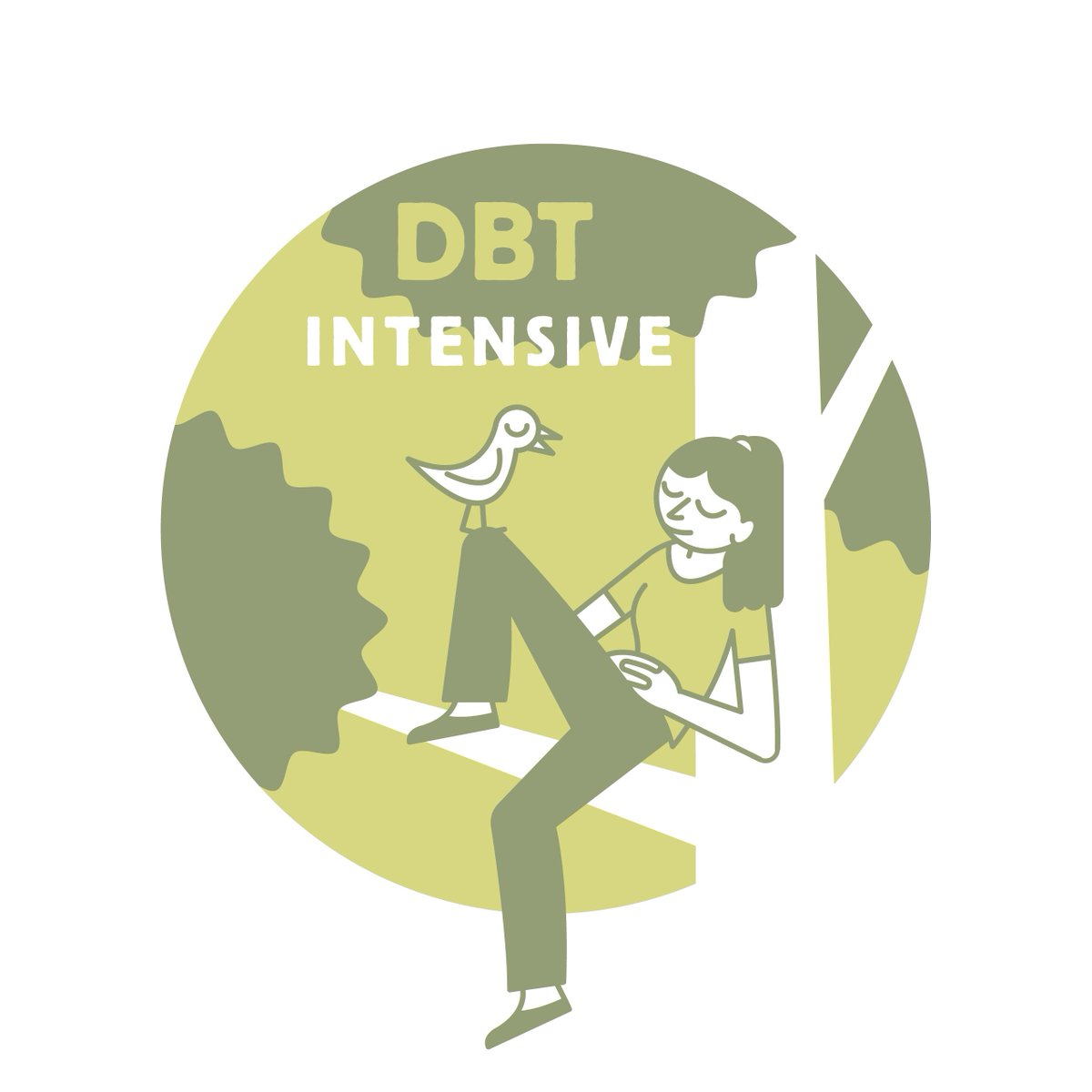 """Our DBT Team is """"intensively-trained"""" by Marsha Linehan's Behavioral Tech. Oh, and-- consultation with B-Tech, too!"""