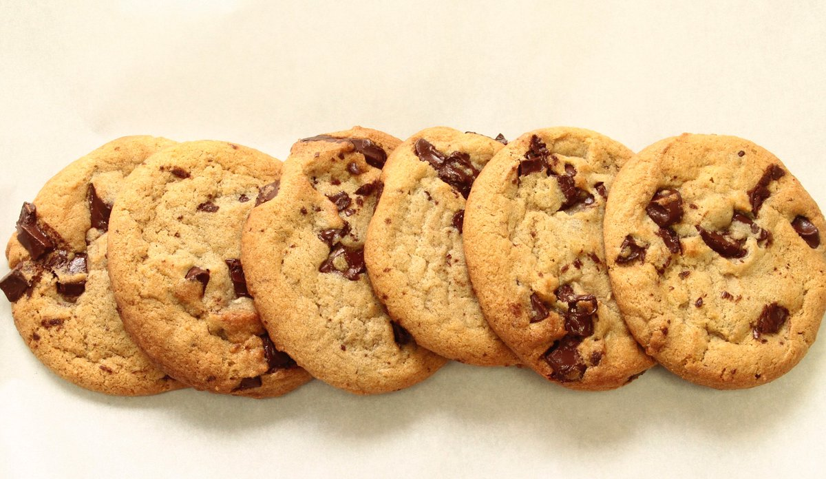 OUR BIGGEST DEAL OF THE YEAR: all-day 4/20, get 6 chocolate chunk cookies for $4.20. #protip #420 https://t.co/XTx0GZNlw0