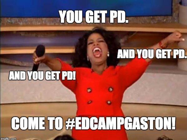 10 more days until #EdCampGaston! Register at https://t.co/8aO9vr60C5  #gcsk12 https://t.co/8aXCY6jVg5