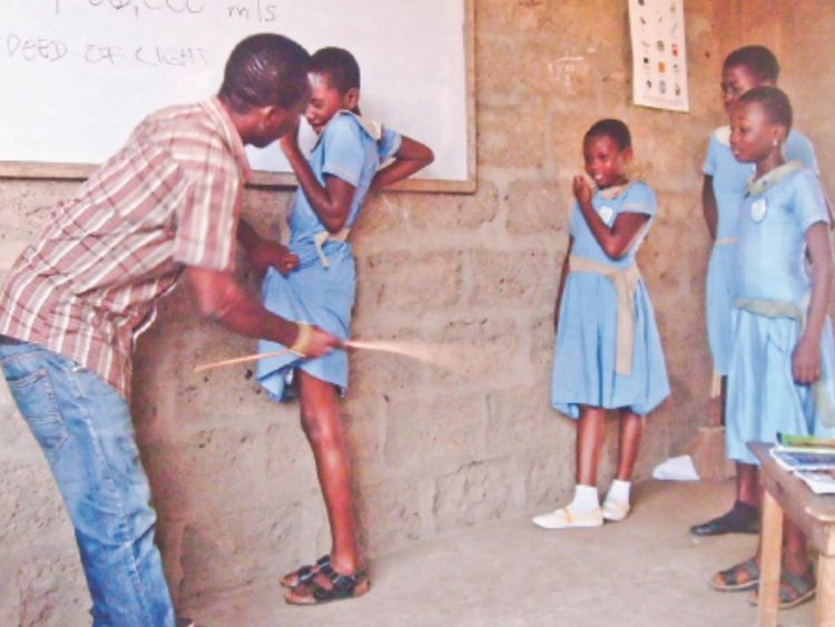 Kenya banned corporal punishment in schools in 2001.  https://t.co/3zmmStSYRQ