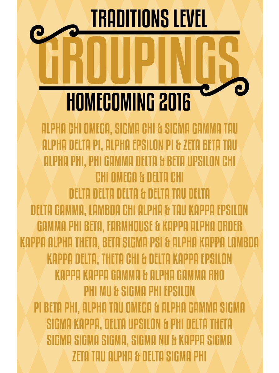 Presenting your 2016 homecoming groupings! #MIZ105HC https://t.co/QUnSu87ukq