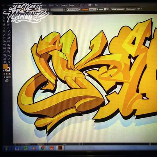 Gerardo Martinez Falso On Twitter Step By Step Graffiti Digital