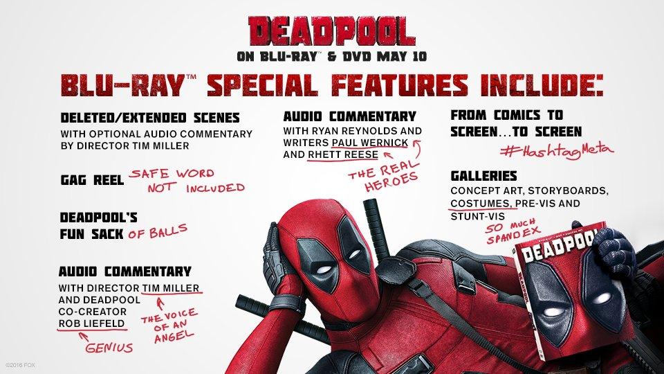 Deadpool Blu-ray Trailer 2