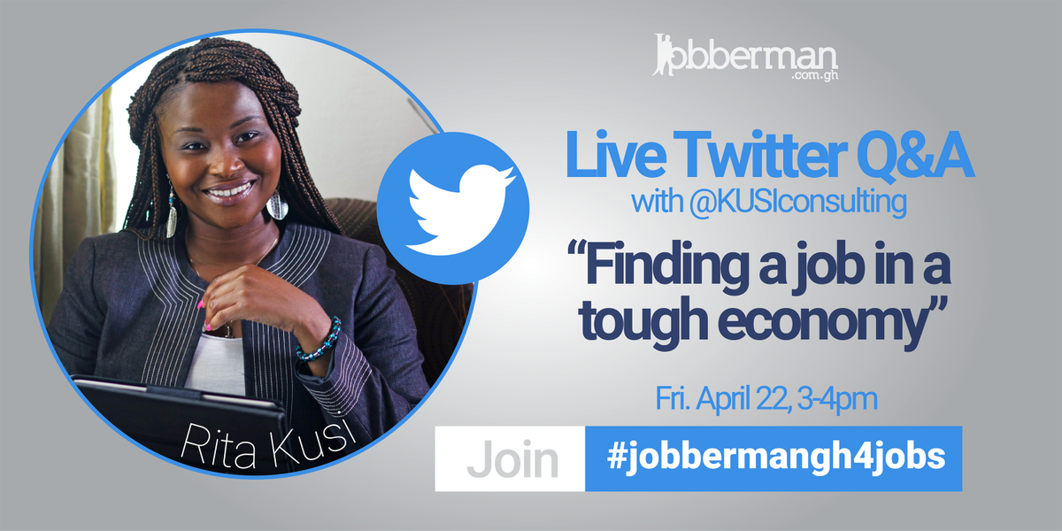 twitter how do you find a job in a tough economy make a date this friday with kusiconsulting timenodey jobbermangh4jobs httpst cogmnidygvth - Can T Find A Job How To Find A Job In This Tough Economy