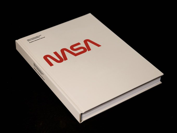 ATTN: We have copies of the 1975 NASA Graphic Design Standards Manual @standardsmanual It's GLORIOUS https://t.co/P3rN9zAYFH