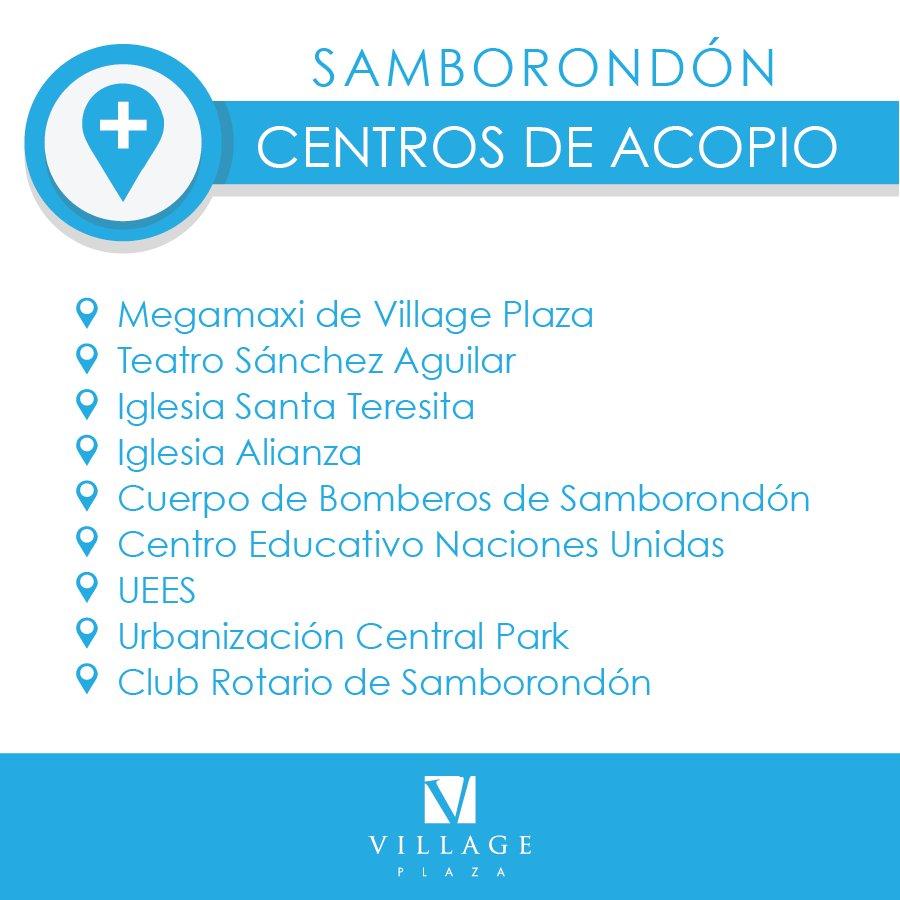 Comunicamos los puntos de acopio más cercanos en vía Samborondón donde puedes llevar donaciones #EcuadorSolidario https://t.co/HeMPuGlWVc