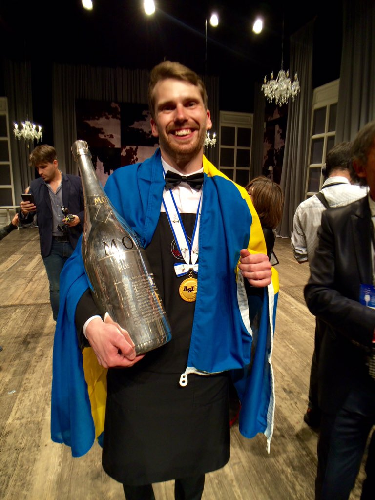 "Richard Guyon on Twitter: ""Congratulations to Jon Arvid Rosengren, Sweden / Best Sommelier Of the World 2016! #VinexpoHK #BestWorldSommARG2016… """
