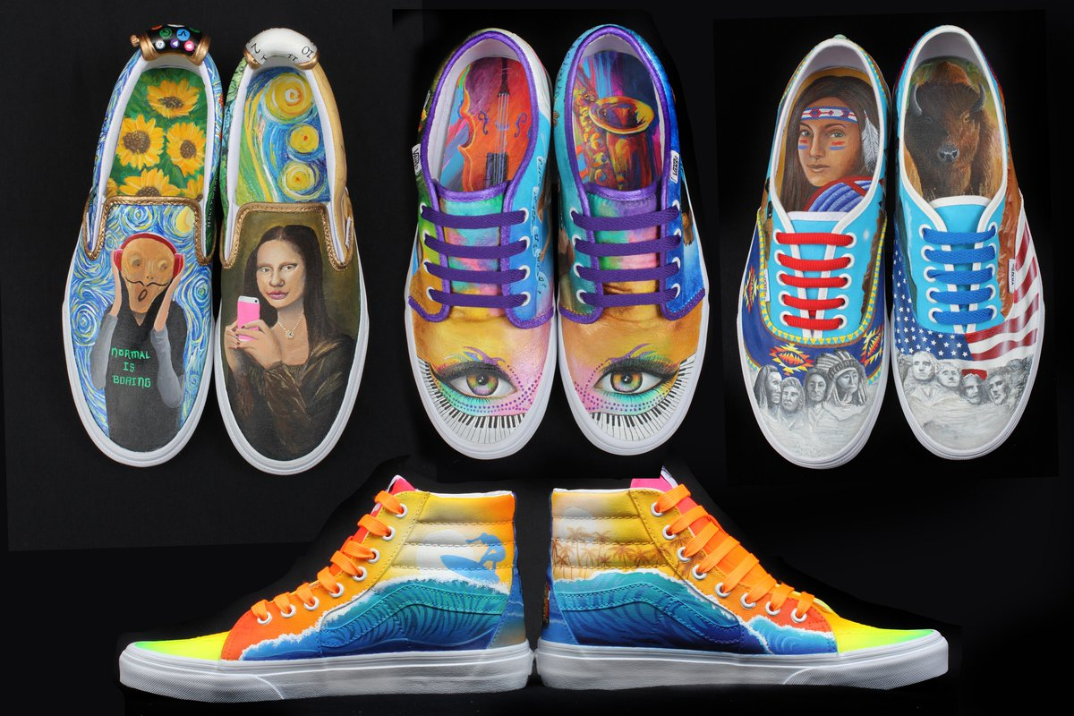 2e695b3d822d9c Here are my students entries in the  vanscustomculture contest for 2016.   parkerpheasants pic.twitter.com wTszQvpcYg