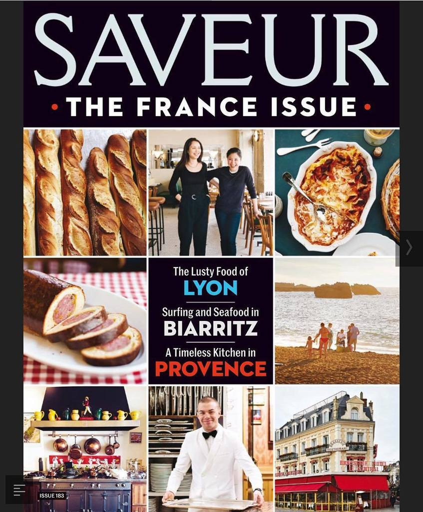 One of my #favorite #cooking #magazines #saveur has a #specialissue on #france ! Mon #magazine de #cuisine #prefere… <br>http://pic.twitter.com/rk7At1VW7h