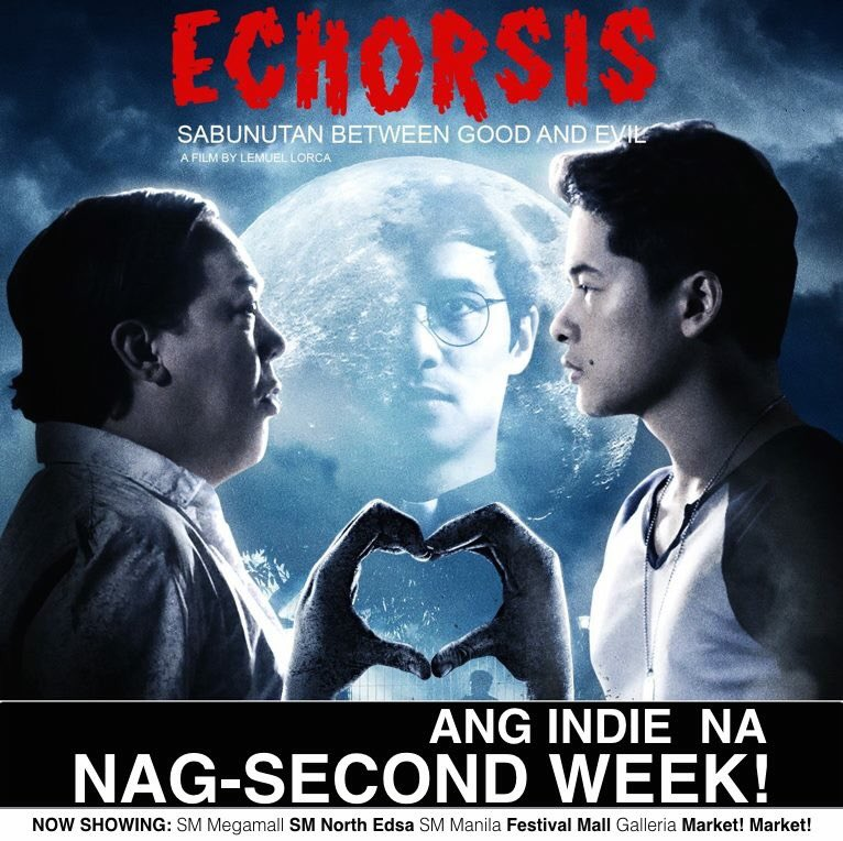 Ang indie na nag-second week! Catch #Echorsis now! @keancipriano @alexvincentm @KorekKaJohn https://t.co/MZH7tWyZg7