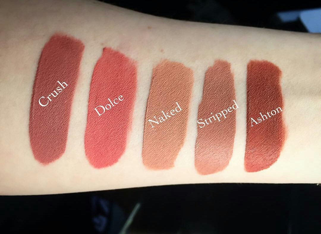 Sakura--dream: Abh Crush Liquid Lipstick