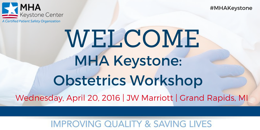 Welcome to our #Obstetrics Workshop in #GrandRapids, #Michigan! Join the conversation using hashtag #MHAKeystone! https://t.co/cDlWwpB6ij