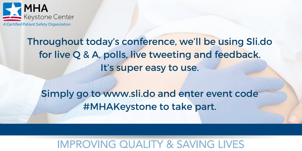We are using slid.do during today's event! Join the conversation --> Visit https://t.co/8G1FJJvjyw  #MHAKeystone https://t.co/WMM0OyHmhv