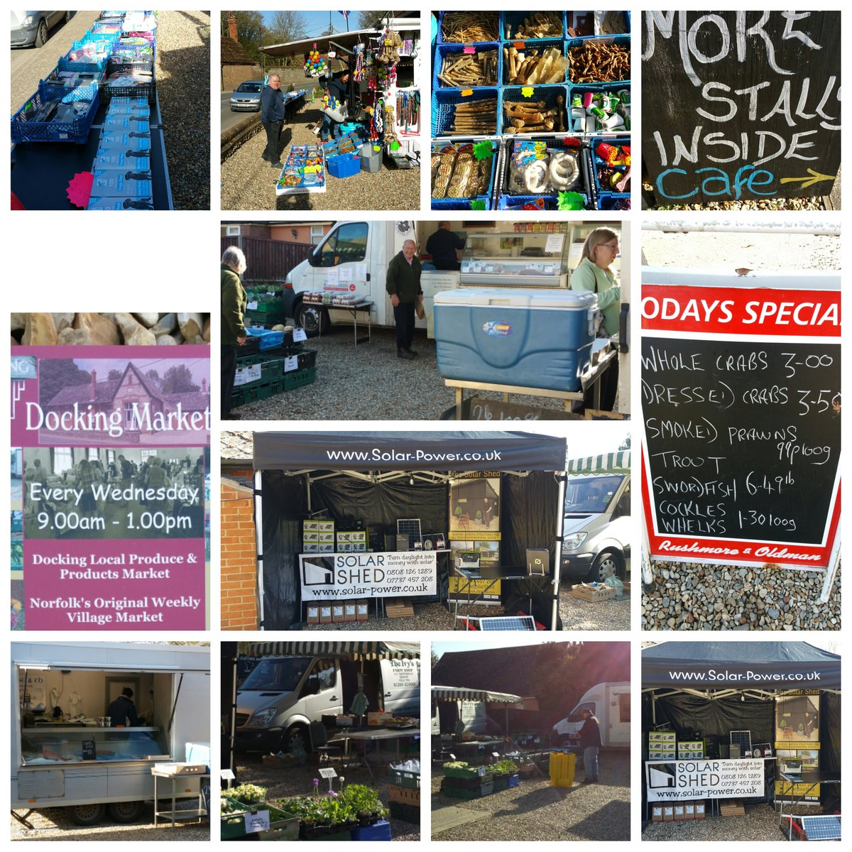 Docking Market, Ripper Hall High Street Docking Norfolk PE31 8NG | Norfolk's Original Weekly Village Market Every Wednesday | Docking Local Produce Market, Farmers Market Docking Norfolk, Fresh Food, Fresh Fish, Market, Handmade Gifts