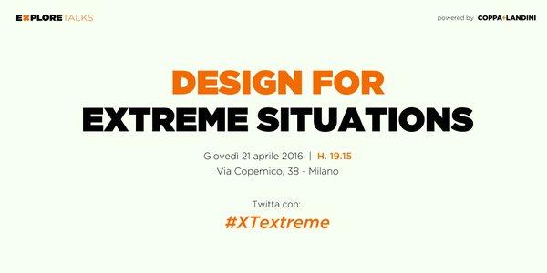21 aprile a #Milano c'è #XTextreme. Si parlerà di #productdesign e #innovazione di prodotto https://t.co/tEUtVsVtwX https://t.co/xEPUGw6OUd