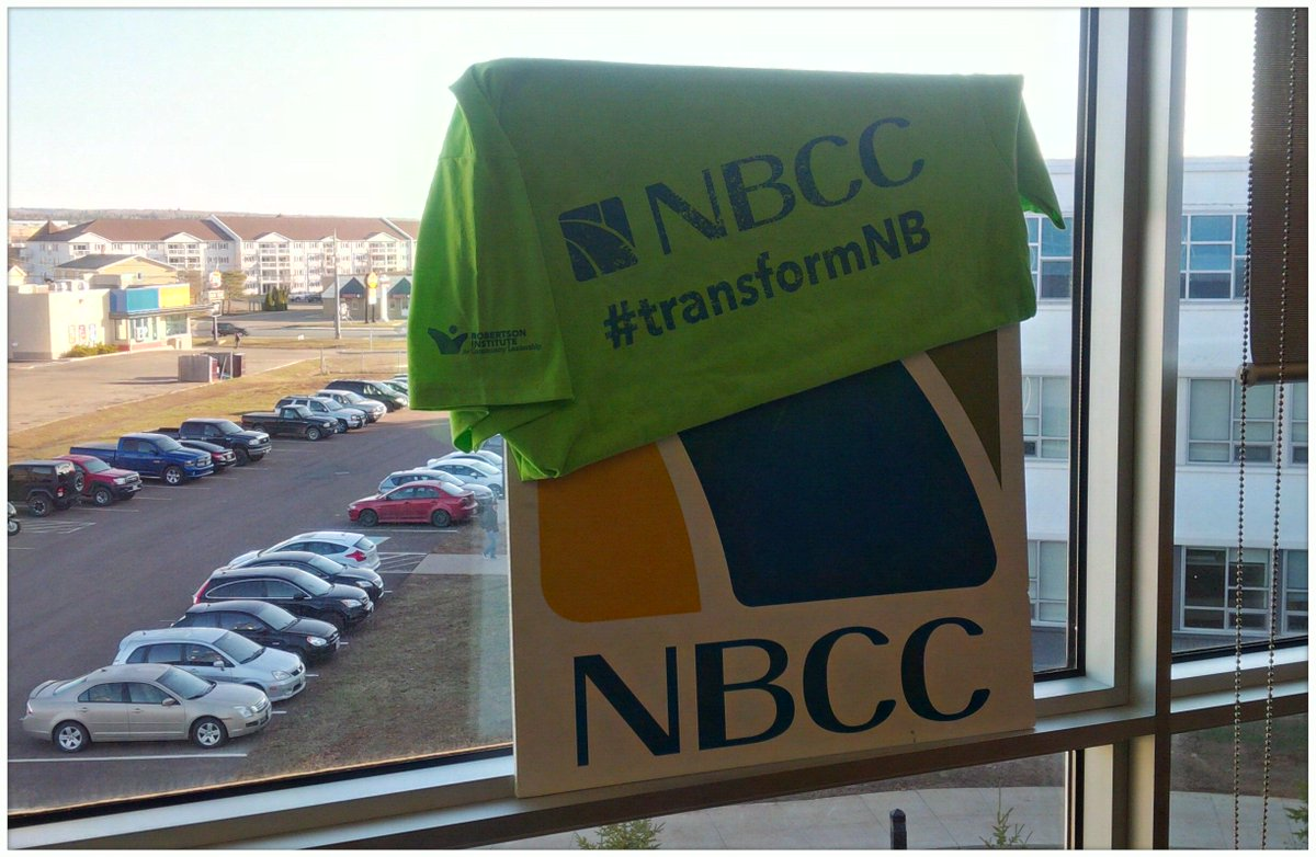 Ready to get your #RICL on and #transformNB?! @myNBCC #Moncton is ready for a sunny day of community work! https://t.co/z5U1gs5L3z