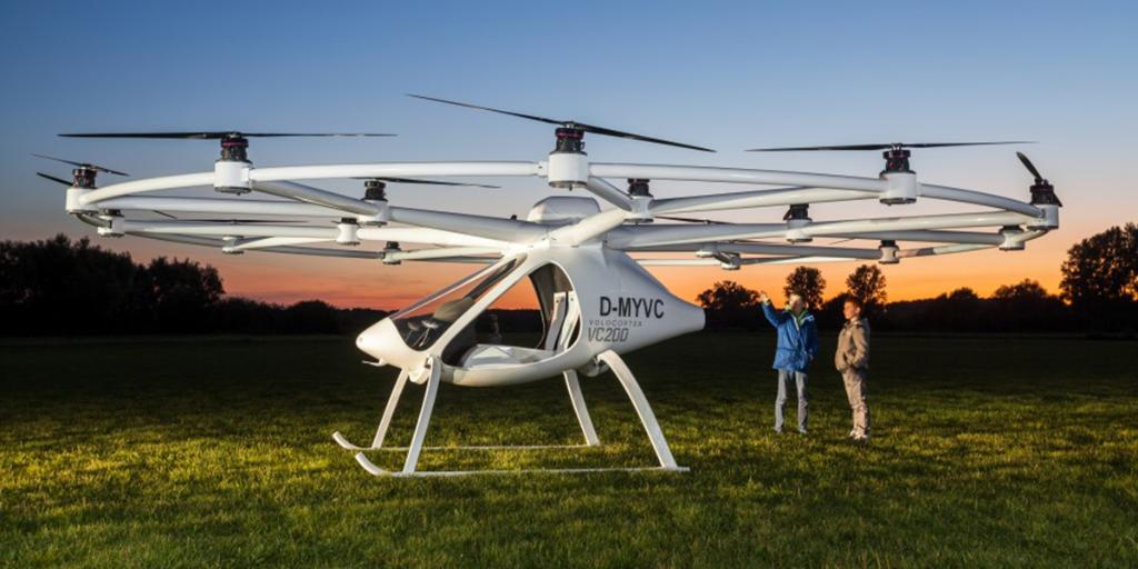 62 mph, 18 rotors, 0 emissions. See how personal flight takes off with the Volocopter #drone https://t.co/0KgRfw4Lyq