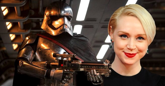 G is for Gwendoline (Christie) @KarissaLaurel #StarWarsABCs https://t.co/7V9qFdfIqf