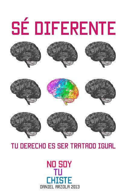 Todos diferentes, pero iguales en cuanto a derechos @Arzola_d, campaña @nosoytuchiste #SexualidadDiversa https://t.co/59oIODKsGx