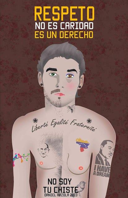 Respeto no es caridad, es un derecho  @Arzola_d, campaña @nosoytuchiste #SexualidadDiversa https://t.co/DBDFJThHd0