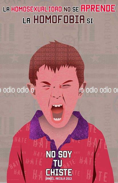 Por una educación libre de homofobia,bifobia y transfobia  @Arzola_d, campaña @nosoytuchiste #SexualidadDiversa https://t.co/l7bzct3iG1
