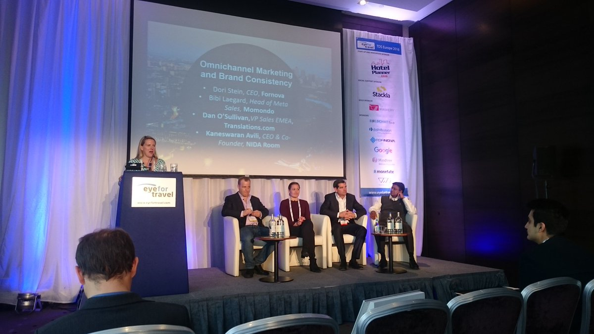 @EyeforTravel: 'Omnichannel marketing and brand consistency at #tdseurope ' https://t.co/uAeLYFlmpB, see more https://t.co/aiFfLopUQk