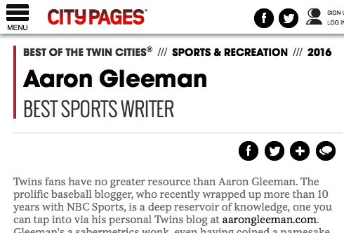 Hows the best way to become a sports writer in Minneapolis?