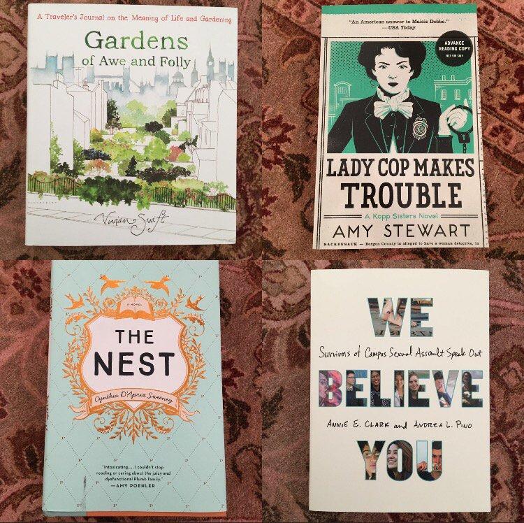 Elizabeth Gilbert On Twitter Four Great Books Im Reading Right
