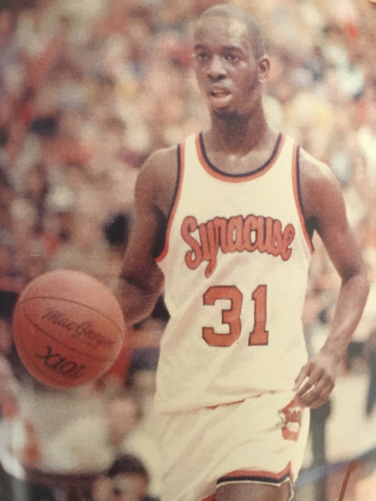 "Remember the T-shirts, ""On the eighth day, God created the Pearl.""?  Today He gets him back. #RIPPearl #OrangeNation https://t.co/whywk7zulr"