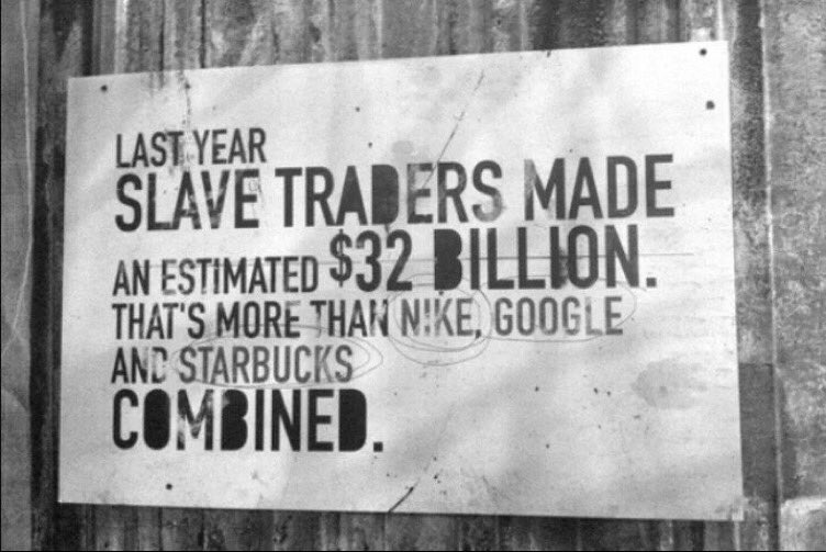 Another person will become victim of #HumanTrafficking while you decide whether or not to RT this tweet. #endslavery https://t.co/DatfOJ0IpU