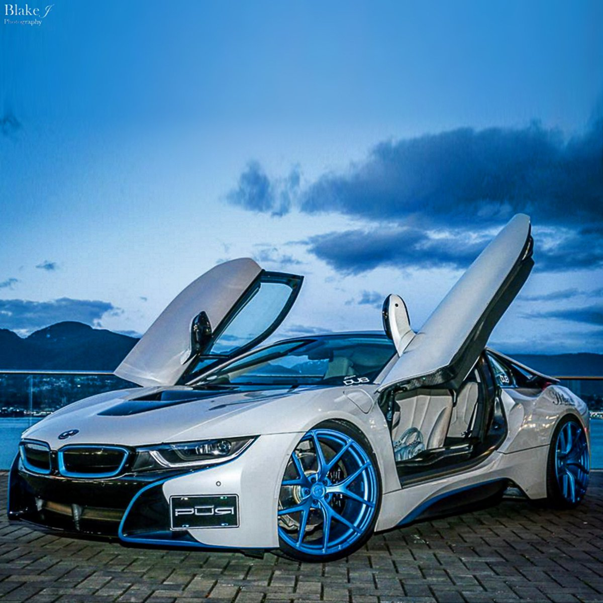Dub Magazine On Twitter Bmw I8 On 4our Matte Electric Blue