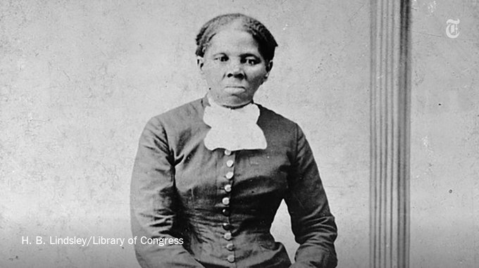 Harriet Tubman will replace Andrew Jackson on the front of the new $20 note https://t.co/JueF1b1r5T