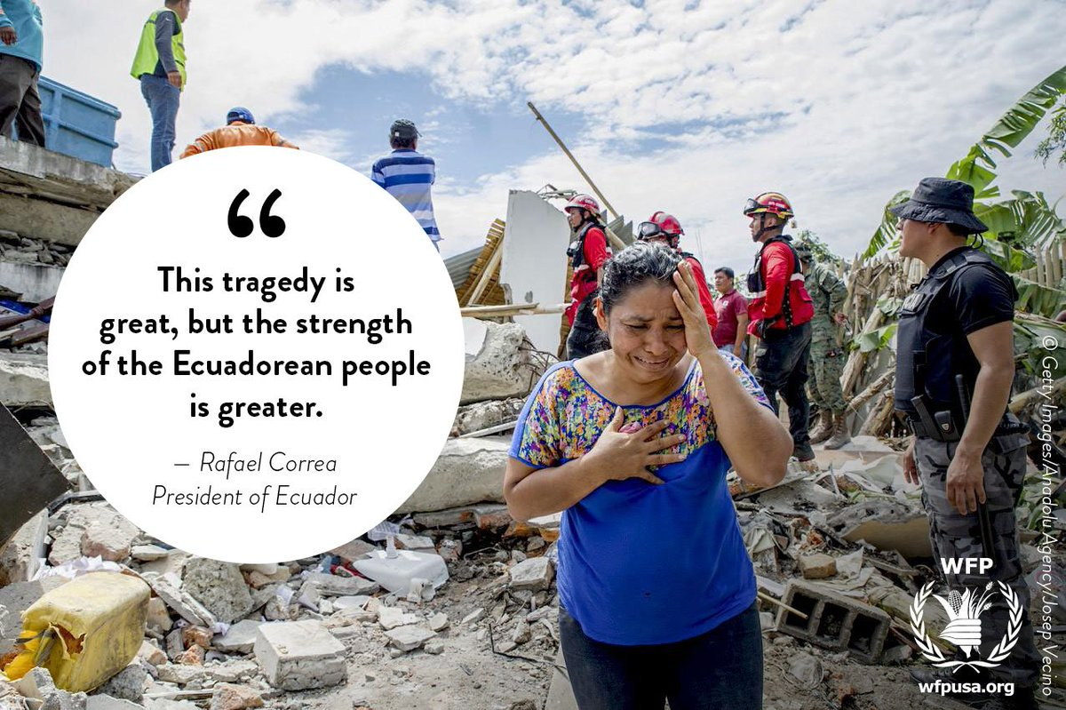 How @WFP is working with the Ecuadorean people --> https://t.co/c4QYoe15fp #EcuadorEarthquake https://t.co/mA4StUXWQM