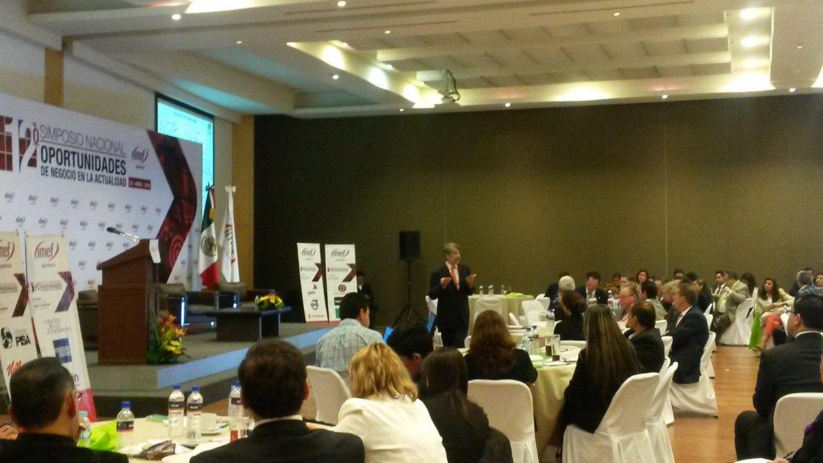 "@IMEFOficial Luis Foncerrada en la ponencia ""Expectativas de negocio para México y Querétaro"" https://t.co/DHT0eU9VVA"