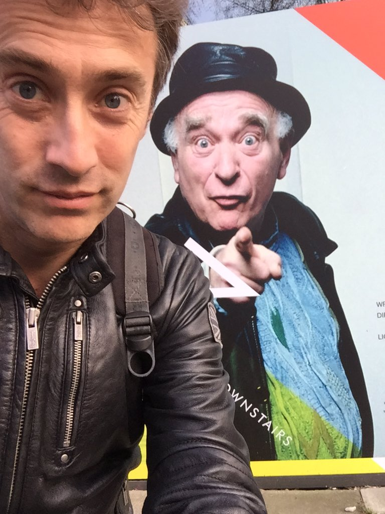 An evening of impish mischief with #KEN @Hamps_Theatre tonight. Much missed & who many of us here owe so much. https://t.co/mNgBb2gEPL