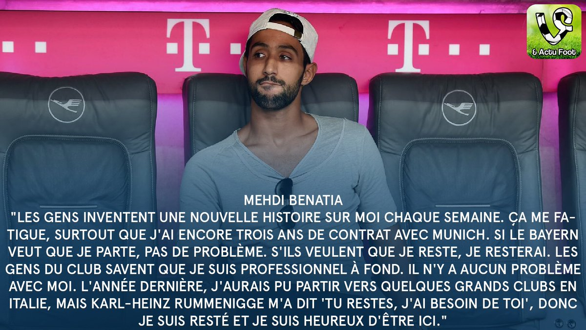 [5] [Abwehr] Mehdi #Benatia  - Page 15 CggUYjKWsAE0bAk