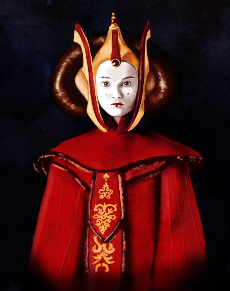 Q is for Queen Amidala @AstralColt #StarWarsABCs https://t.co/gPYD4BORbN
