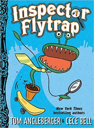 Inspector Flytrap, by Tom Angleberger & Cece Bell.  OH MY GOD IT'S LIKE KID CATNIP  @abramskids https://t.co/7reKpObrci