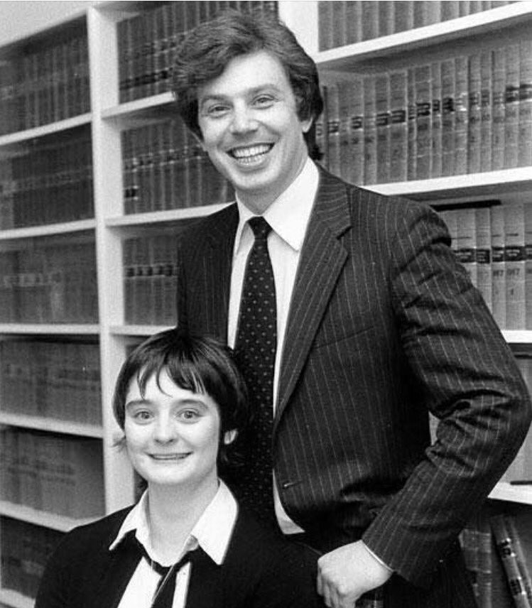 Nice early photo of Tony Blair and his wife, Pete Doherty. https://t.co/AojnXTQsGo